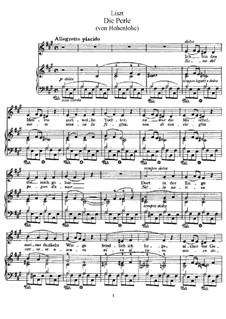La perla, S.326: La perla by Franz Liszt