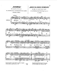 Der blinde Sänger, S.350: Für einen Interpreten by Franz Liszt