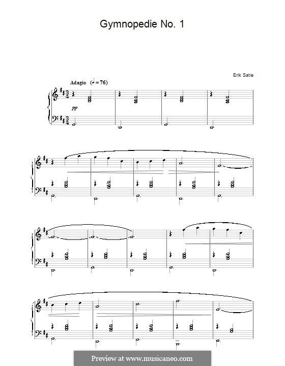 Gymnopédies: No.1 by Erik Satie