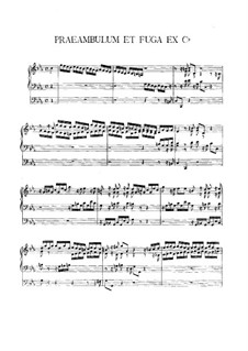 Preamble and Fugue in C Minor: Preamble and Fugue in C Minor by Vincent Lübeck