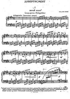 Six Divertissements, Op.35: Six Divertissements by Sergei Lyapunov