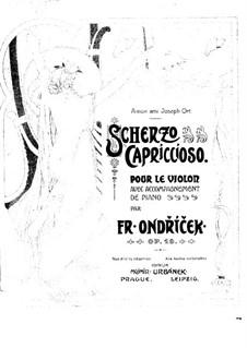 Scherzo Capriccioso, Op.18: Scherzo Capriccioso by František Ondříček