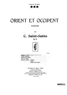 Orient et occident, Op.25: Orient et occident by Camille Saint-Saëns