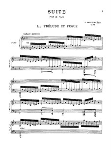 Suite in F Major, Op.90: Suite in F Major by Camille Saint-Saëns