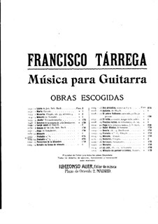 Preludes: Prelude No.6 by Francisco Tárrega