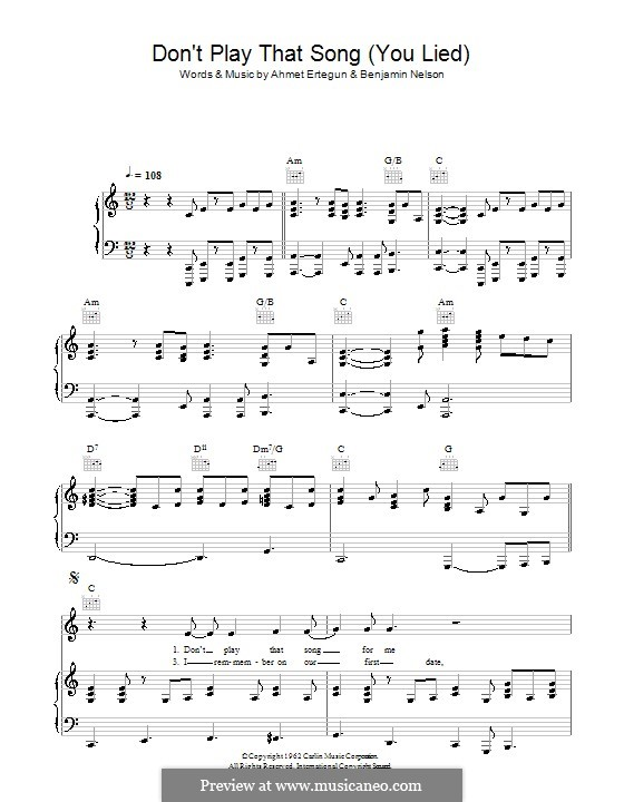 For voice and piano or guitar (Aretha Franklin)