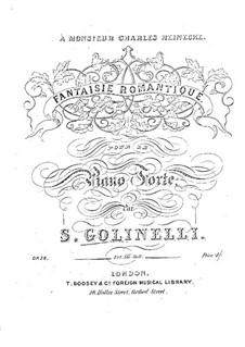 Romantic Fantasia, Op.58: Romantic Fantasia by Stefano Golinelli