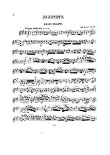 String Quartet No.4 in A Major, Op.74: String Quartet No.4 in A Major by Ignaz Lachner