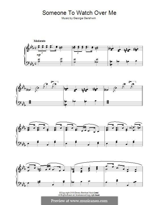 Someone To Watch Over Me (from Oh, Kay!): For piano by George Gershwin