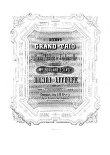 Grand Piano Trio No.2, Op.56: Grand Piano Trio No.2 by Henry Litolff