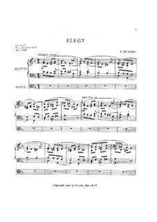 Elegy: Elegy by Charles Harford Lloyd