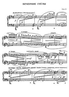 Rêverie du soir, Op.3: Rêverie du soir by Sergei Lyapunov