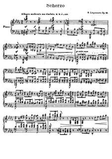 Scherzo, Op.45: Scherzo by Sergei Lyapunov