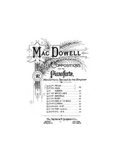 Prelude and Fugue, Op.13: For piano by Edward MacDowell