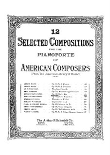Two Pieces, Op.49: Complete set by Edward MacDowell