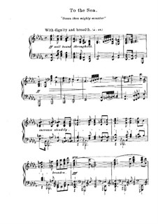 Sea Pieces, Op.55: Complete set by Edward MacDowell
