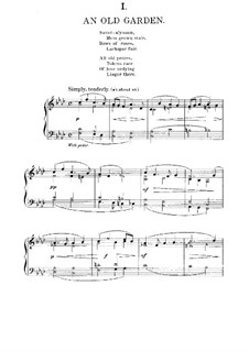 New England Idylls, Op.62: For piano by Edward MacDowell