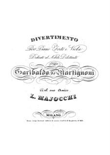Divertimento: Divertimento by Luigi Majocchi