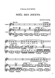 Noël des Jouets, M.47: Noël des Jouets by Maurice Ravel