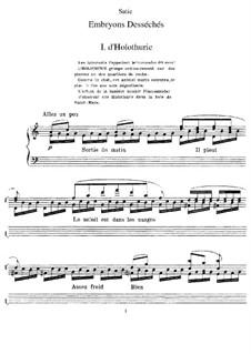 Embryons desséchés: Embryons desséchés by Erik Satie