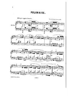 Polonaise in C Sharp Minor, Op.12: Polonaise in C Sharp Minor by Xaver Scharwenka