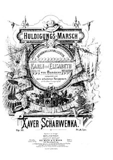 Huldigungs Marsch, Op.55: Huldigungs Marsch by Xaver Scharwenka