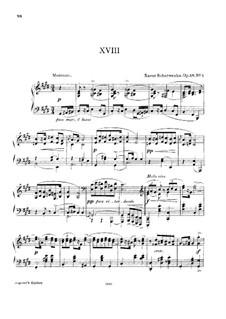 Four Polish Dances, Op.58: Complete set by Xaver Scharwenka