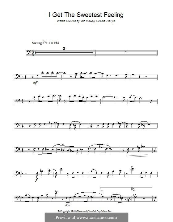 I Get the Sweetest Feeling (Jackie Wilson): For trombone by Alicia Evelyn, Van McCoy