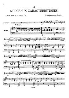 Alla Pollacca, Op.48 No.4: Alla Pollacca by Georg Goltermann