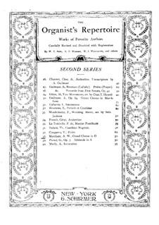 Grand choeur: Grand choeur by Arthur William Marchant