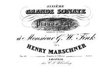 Sonata No.6 in A Flat Major, Op.39: Sonata No.6 in A Flat Major by Heinrich Marschner