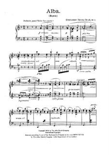 A Day in Venice, Op.25: A Day in Venice by Ethelbert Woodbridge Nevin