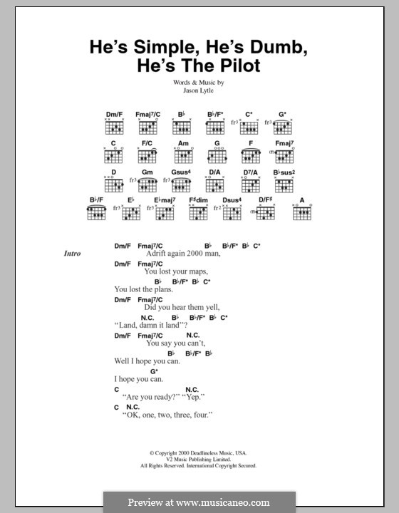 He\'s Simple, He\'s Dumb, He\'s the Pilot (Grandaddy) by J. Lytle on ...