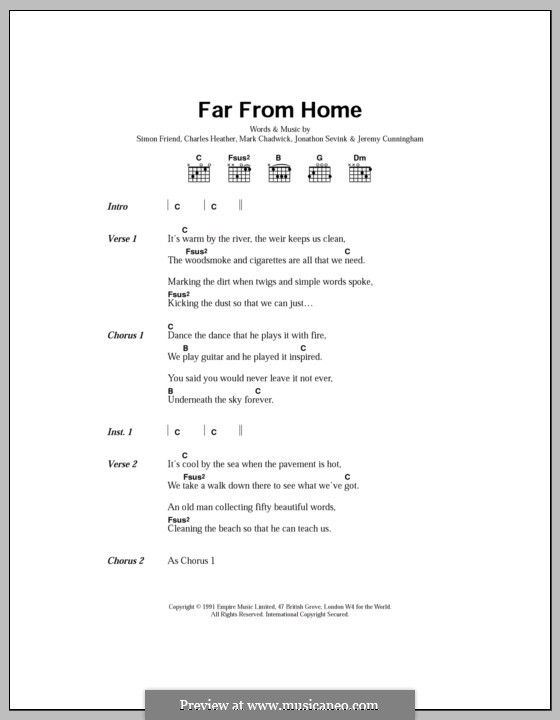 Far from Home (The Levellers) by C. Heather, J. Cunningham, J ...