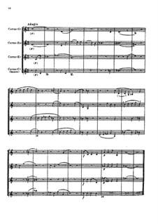 Adagio for Four Horns, TH 156: Adagio for Four Horns by Pyotr Tchaikovsky