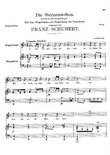 Die Sternenwelten (The Starry Worlds), D.307: F Major by Franz Schubert