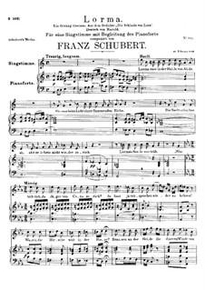 Lorma, D.376: Lorma by Franz Schubert