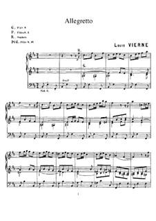 Allegretto: Allegretto by Louis Vierne