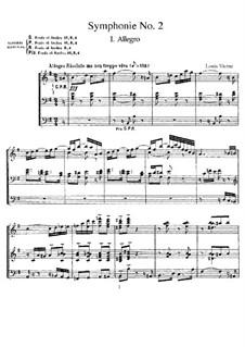 Symphony No.2, Op.20: Symphony No.2 by Louis Vierne