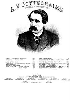 Pasquinade. Caprice, Op.59: For piano by Louis Moreau Gottschalk