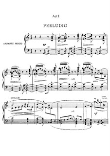 Le Villi (The Willis or The Fairies): Piano-vocal score by Giacomo Puccini