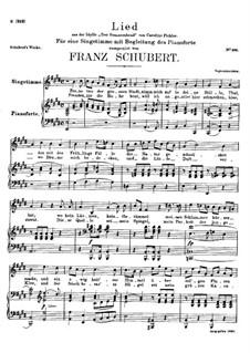Ferne von der Grossen Stadt (Far from the Great City), D.483: Ferne von der Grossen Stadt (Far from the Great City) by Franz Schubert