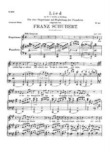 Die Mutter Erde (Mother Earth), D.788: A Major by Franz Schubert