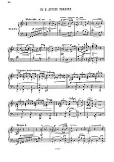 Raphael, Op.37: No.2 Arioso of Raphael, for piano by Anton Arensky