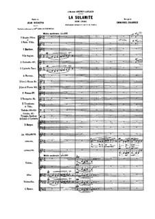 La Sulamite: Full score by Emmanuel Chabrier