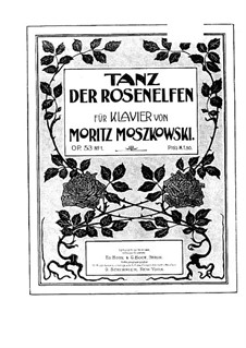Four Pieces from the Ballet 'Laurin' for Piano, Op.53a: Four Pieces from the Ballet 'Laurin' for Piano by Moritz Moszkowski