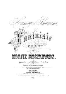 Hommage à Schumann, Op.5: Hommage à Schumann by Moritz Moszkowski