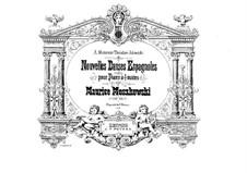 Nouvelles danses espagnoles, Op.65: Four piano four hands by Moritz Moszkowski