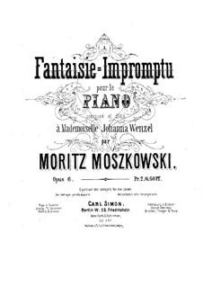 Fantasia-Impromptu, Op.6: Fantasia-Impromptu by Moritz Moszkowski