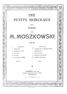 Ten Little Pieces, Op.94: Ten Little Pieces by Moritz Moszkowski